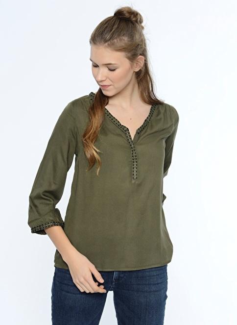 Vero Moda Bluz Yeşil